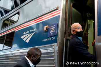 House GOP write letter to Amtrak CEO questioning Joe Biden's campaign train tour