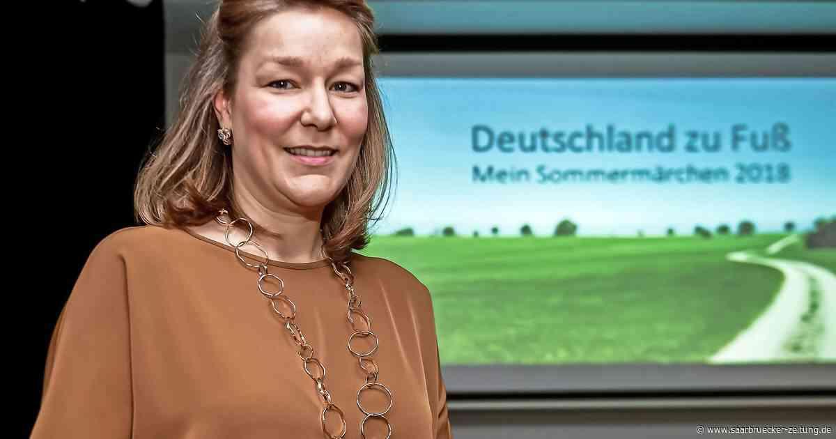 Anne-Sophie Zähringer zu Gast beim Saarwaldverein Wadgassen - Saarbrücker Zeitung