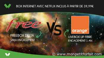 Box internet avec Netflix inclus : Freebox Delta vs Orange Livebox Up - MonPetitForfait