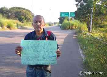 Sidorista camina desde Ciudad Bolívar hasta Puerto Ordaz para iniciar huelga de hambre - El Pitazo