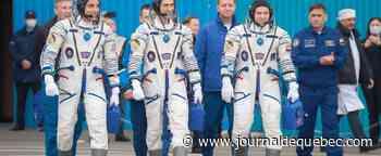 Un équipage américano-russe de la station spatiale internationale de retour sur terre
