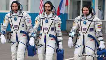 Trio returns to Earth after 6 months aboard International Space Station