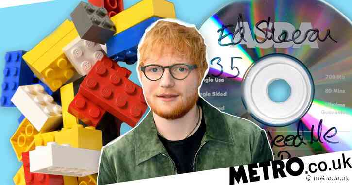 Ed Sheeran is auctioning off his prized Lego collection for charity