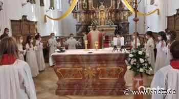 38 Kinder feiern in Pfarrei Vilseck Erstkommunion - Onetz.de
