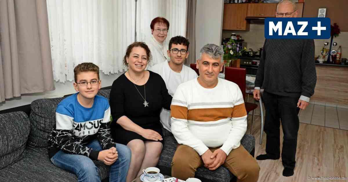 Luckenwalde ist neue Heimat für syrische Familie - Märkische Allgemeine Zeitung
