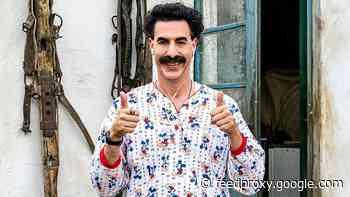 "Giuliani calls 'Borat' scene a ""complete fabrication"": ""I was tucking in my shirt"""
