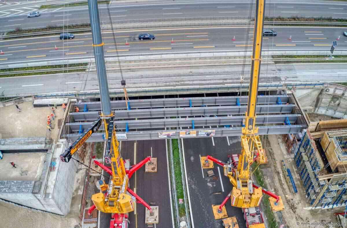 Großbaustelle S 21 bei Wendlingen: So sieht die Baustelle aus der Vogelperspektive aus - esslinger-zeitung.de