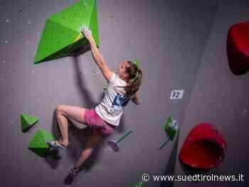 Sportklettern: Filip Schenk holt Silber – Südtirol News - Suedtirol News