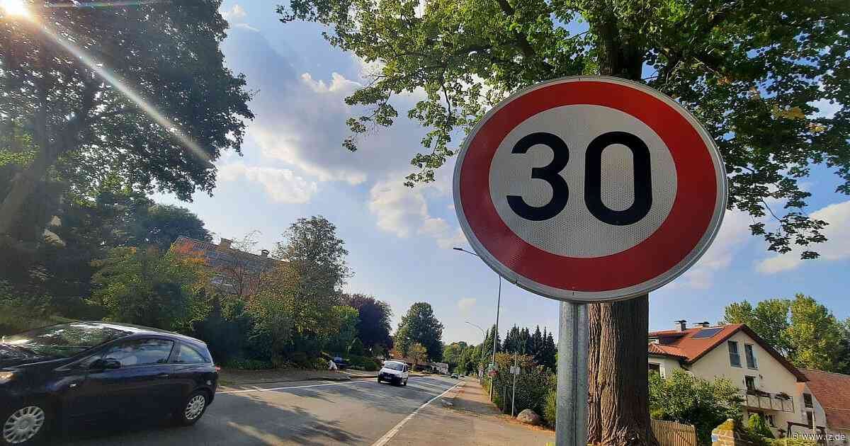 Tempo 30 auf der Billerbecker Ortsdurchfahrt | Lokale Nachrichten aus Horn-Bad Meinberg - Lippische Landes-Zeitung
