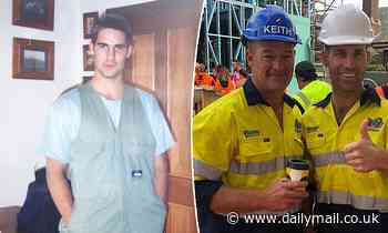 The Block's Dan Reilly shares a fresh-faced photo from his first day as an apprentice carpenter