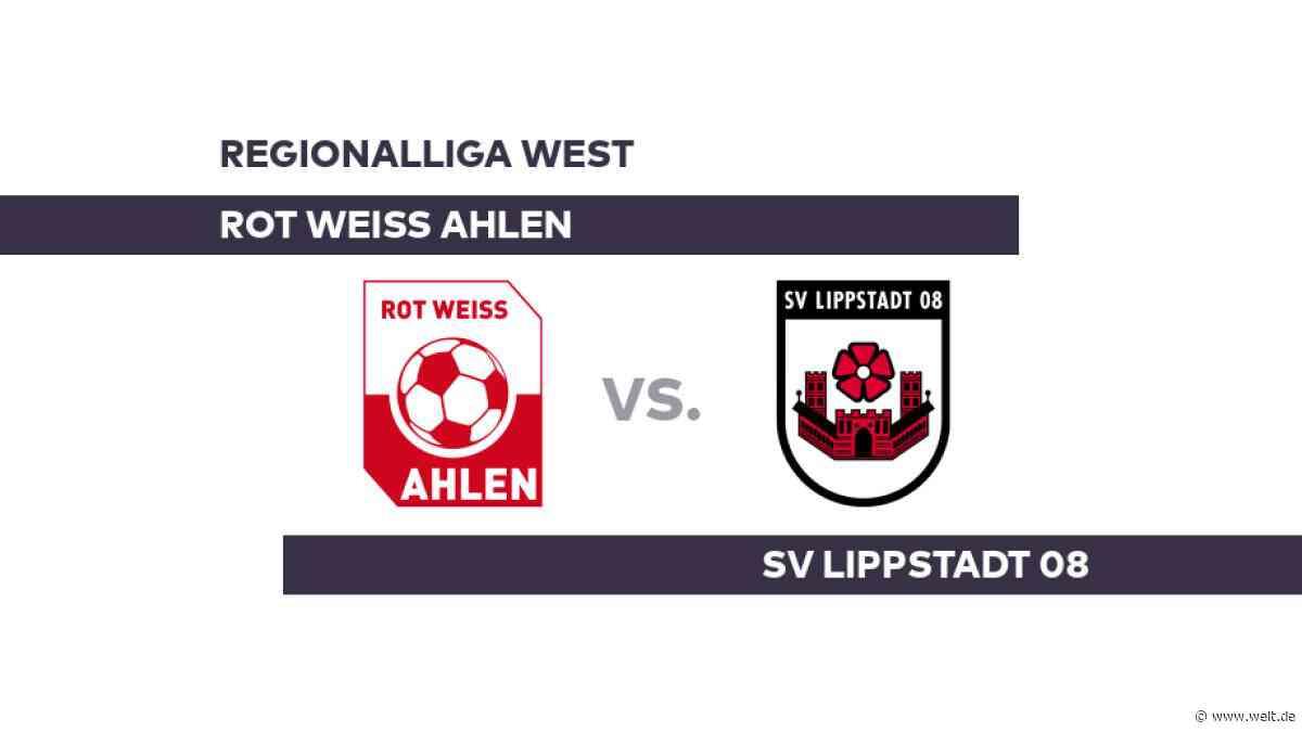 Rot Weiss Ahlen - SV Lippstadt 08: Lippstadt hat Punkte dringend nötig - Regionalliga West - DIE WELT