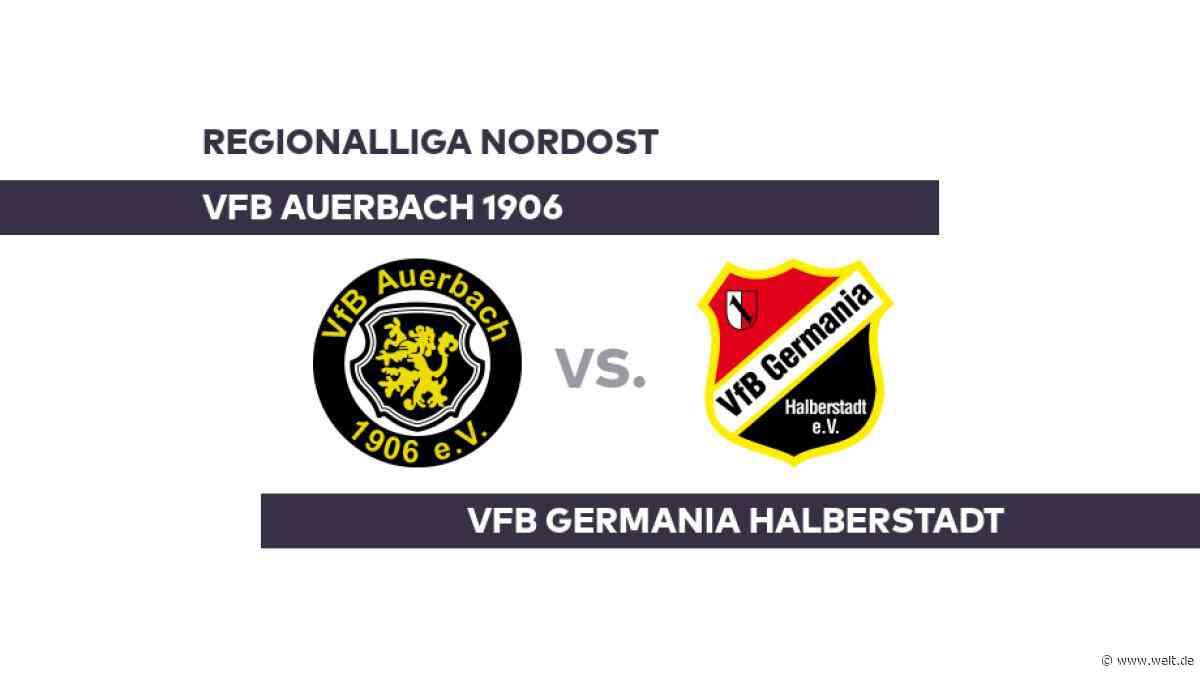 VfB Auerbach 1906 - VfB Germania Halberstadt: Auerbach auf Talfahrt - Regionalliga Nordost - DIE WELT