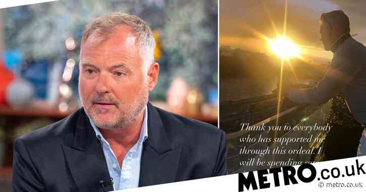 John Leslie speaks out after being cleared of sexual assault and vows to 'put his family back together'