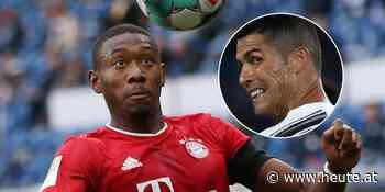 Wird David Alaba ein Teamkollege von Cristiano Ronaldo? - Heute.at