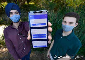 Marin students create coronavirus contact tracing app - Marin Independent Journal