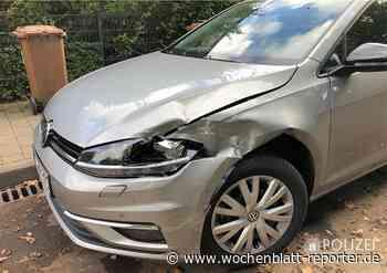Unfall mit Fahrerflucht in Kaiserslautern: Wer hat den VW Golf gerammt? - Kaiserslautern - Wochenblatt-Reporter