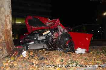 Unfall in Heilbronn - Mit Golf GTI gegen Baum gekracht – 31-Jähriger schwer verletzt - Stuttgarter Nachrichten