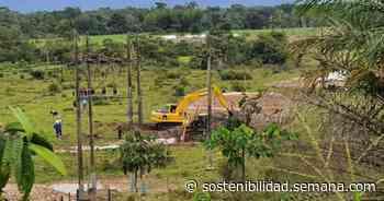jalon de orejas a ecopetrol por derrame de hidrocarburo en acacias - Semana