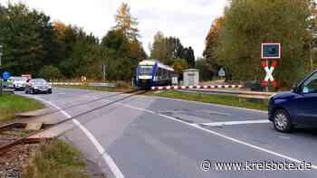 Bahnübergang in der Weilheimer Straße eine Woche lang gesperrt – Umleitung eingerichtet - Kreisbote
