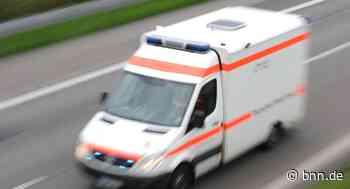 Schwerverletzte bei Unfall bei Stutensee - BNN - Badische Neueste Nachrichten