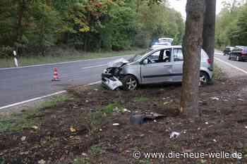 Schwerer Unfall bei Stutensee: Kleinwagen kracht mit voller Wucht gegen Baum - die neue welle