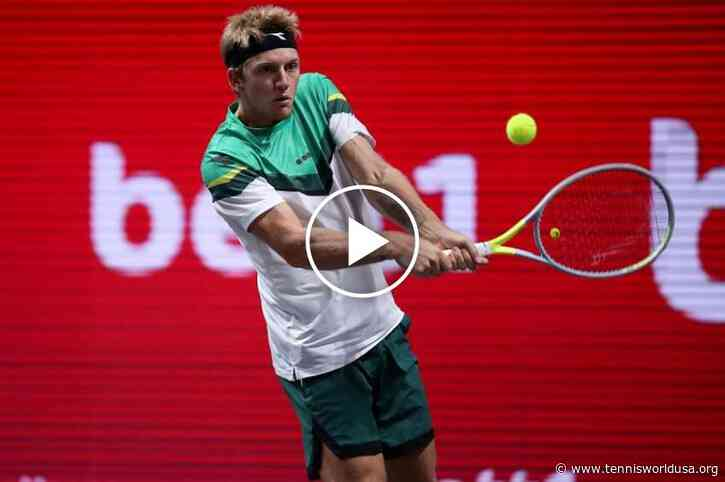 ATP Cologne: Davidovich Fokina MASTER of the net!