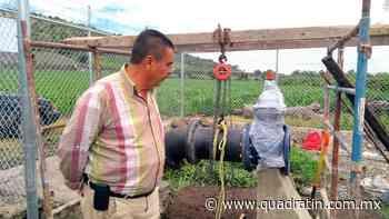 Mejora servicio de agua potable y alcantarillado en Jiquilpan - Quadratín - Quadratín Michoacán