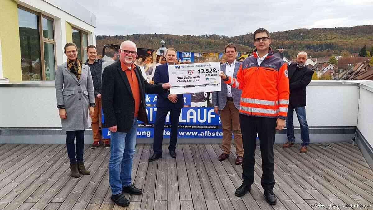 Albstadt: 13 528 Euro für das Rote Kreuz - Albstadt - Schwarzwälder Bote