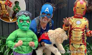 Jimmy Bartel shares photos of his sons dressed as Marvel characters