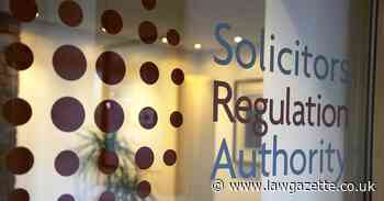 SRA to pay interim £40k costs after 'lamentable' prosecution