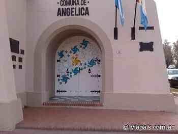 Angélica comunicó su primer caso de coronavirus - Vía País