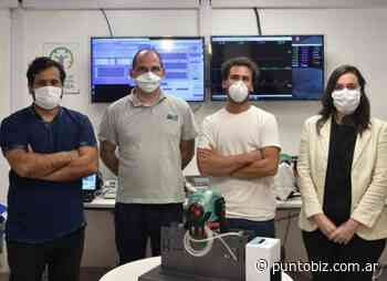 Un respirador diseñado en Rafaela ya puede usarse en todo el país - Punto Biz