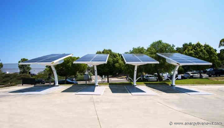 San Diego partners with Beam Global to offer free green EV charging