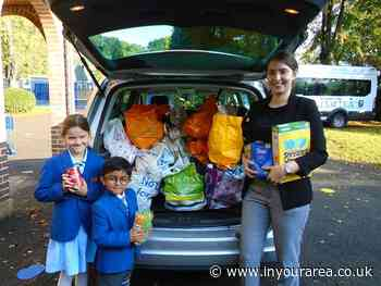 Families in crisis supported by Croydon school's harvest festival donations - In Your Area