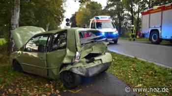 Schwerer Unfall auf der B 70 in Westoverledingen - noz.de - Neue Osnabrücker Zeitung
