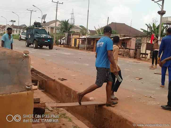 UPDATED: Police kill 2 protesters in Enugu