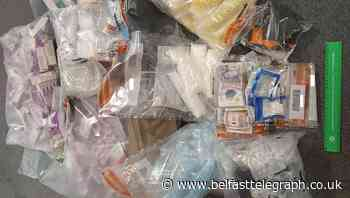£30k drugs seized in Belfast after police search car