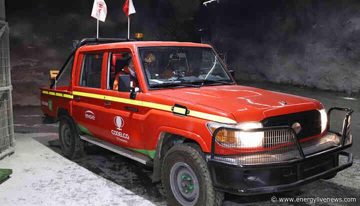 Chile unveils electric truck for 'world's biggest' underground copper mine
