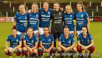 Linfield Ladies face tough trip to Belgium in UEFA Women's Champions League qualifiers