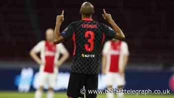 Fabinho praised in centre-back spot as Liverpool manage without Virgil Van Dijk