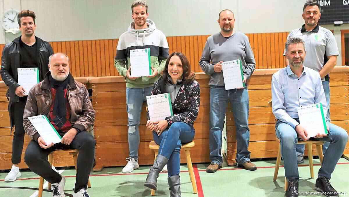 Dotternhausen: Grün-weiße Sportler blicken auf ein ereignisreiches Jahr zurück - Dotternhausen - Schwarzwälder Bote
