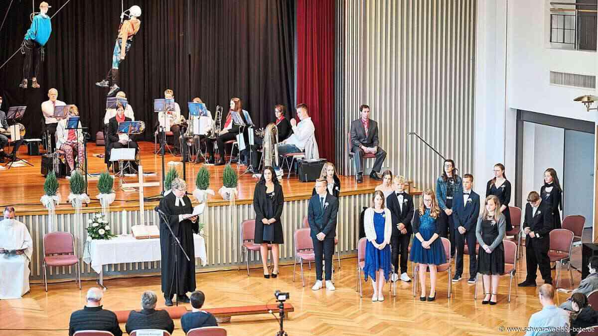 Dotternhausen: Konfirmationen finden in der Festhalle statt - Dotternhausen - Schwarzwälder Bote