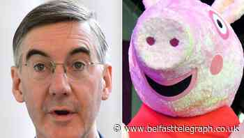 Jacob Rees-Mogg channels Peppa Pig to praise World Puddle Jumping Championships