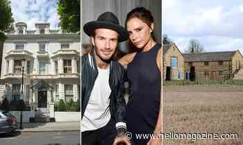 David and Victoria Beckham reveal beautiful home decoration plans