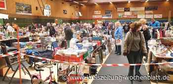 Gelungene Flohmarktpremiere in Drochtersen: Gute Umsätze gemacht - Drochtersen - Kreiszeitung Wochenblatt