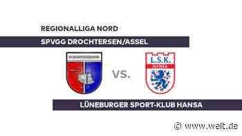 SpVgg Drochtersen/Assel - Lüneburger Sport-Klub Hansa: Gelingt Lüneburg die Trendwende? - Regionalliga Nord - DIE WELT