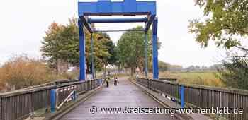Den Inselcharakter erhaltne: Klappbrücke in Dornbusch wird saniert - Kreiszeitung Wochenblatt