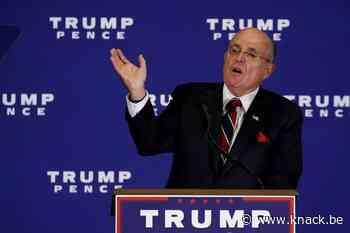 Trumps advocaat Rudy Giuliani in opspraak door nieuwe Borat-film