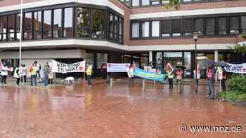 Verdi-Mitglieder demonstrieren in Haren - NOZ