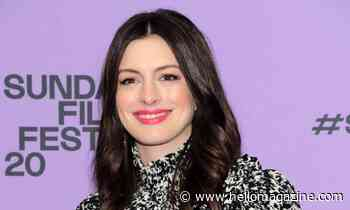 Anne Hathaway shares epic selfie with multi-coloured ringlets - and fans are convinced it's not her